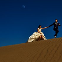 Trash the Dress Canarie Island Desert - Maspalomas Dunes