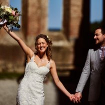 Wedding at San Galgano Abbey - Villa Podernovo